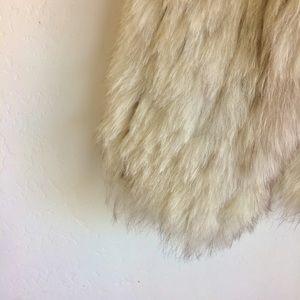 Saga Furs Jackets & Coats - Saga Fox Fur Jacket Silver Tan Accents XS